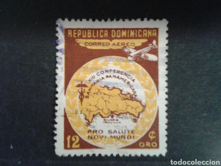 REPÚBLICA DOMINICANA. YVERT A-82. SERIE COMPLETA USADA. (Sellos - Extranjero - América - República Dominicana)