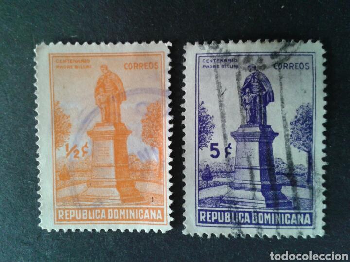 REPÚBLICA DOMINICANA. YVERT 305/6. SERIE COMPLETA USADA. (Sellos - Extranjero - América - República Dominicana)