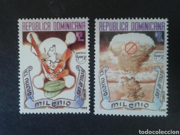 REPÚBLICA DOMINICANA. YVERT 1397/8. SERIE COMPLETA NUEVA SIN CHARNELA. AMÉRICA UPAEP. (Sellos - Extranjero - América - República Dominicana)