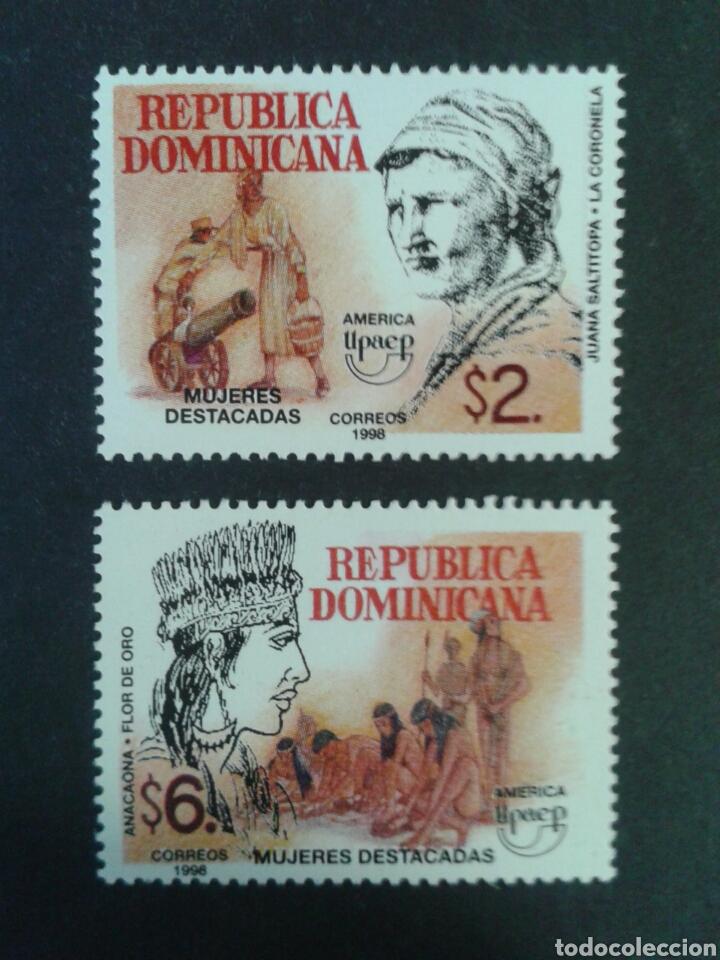 REPÚBLICA DOMINICANA. YVERT 1319/20. SERIE COMPLETA NUEVA SIN CHARNELA. AMÉRICA UPAEP. (Sellos - Extranjero - América - República Dominicana)