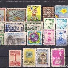 Sellos: REP. DOMINICANA - LOTE 22 SELLOS DIFERENTES. Lote 98632323