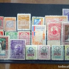 Sellos: REPÚBLICA DOMINICANA, 18 SELLOS DIFERENTES . Lote 127833483