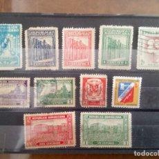 Sellos: REPÚBLICA DOMINICANA, 11 SELLOS DIFERENTES. Lote 129576375
