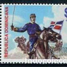 Sellos: DOMINICANA - GENERAL GREGORIO LUPERON (2013) **. Lote 136813378