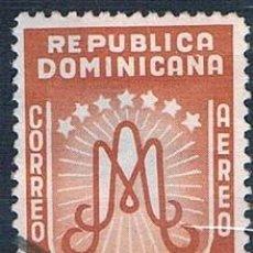 Sellos: REPÚBLICA DOMINICANA 1954 SELLO USADO Y PA94. Lote 145022982