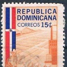 Sellos: REPÚBLICA DOMINICANA 1962 SELLO USADO Y 575. Lote 145023002