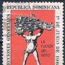 Sellos: REPÚBLICA DOMINICANA 1966 SELLO USADO Y 637. Lote 145023006