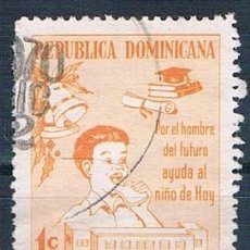 Sellos: REPÚBLICA DOMINICANA 1970 SELLO USADO MI ZA43. Lote 145023062