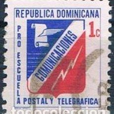 Sellos: REPÚBLICA DOMINICANA 1971 SELLO USADO Y B43. Lote 145023090
