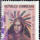 Sellos: 1975 - REPUBLICA DOMINICANA - GUARIONEX - CACIQUE TAINO - MICHEL 1099. Lote 149961462