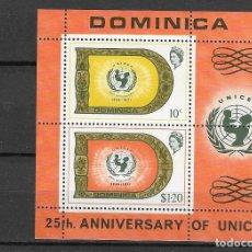 Sellos: DOMINICA Nº HB 9 (**). Lote 180476450
