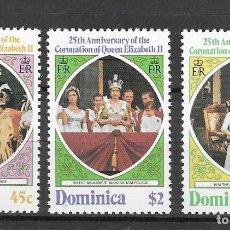 Sellos: DOMINICA Nº 561 AL 563 (**). Lote 180476898