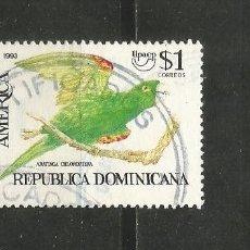 Francobolli: REPUBLICA DOMINICANA YVERT NUM. 1117 USADO. Lote 188503191
