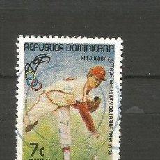 Francobolli: REPUBLICA DOMINICANA CORREO AEREO YVERT NUM. 319 USADO. Lote 188514342