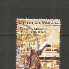 Sellos: REPUBLICA DOMINICANA CORREO AEREO YVERT NUM. 424 USADO. Lote 188537391