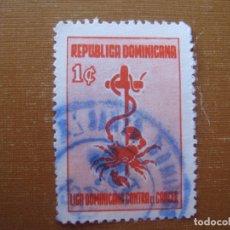 Sellos: REPUBLICA DOMINICANA 1953, SELLO DE BENEFICENCIA YVERT 7. Lote 189401785