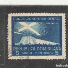 Sellos: REPUBLICA DOMINICANA 1940 - YVERT NRO. 23- USADO - LIGERO ADELGAZAMIENTO. Lote 189714621