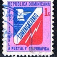 Sellos: REPUBLICA DOMINICANA // YVERT 51 F (BENEFICENCIA ) // 1974-82 ... USADO. Lote 190467862