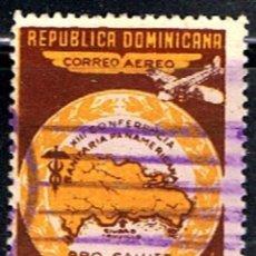 Sellos: REPUBLICA DOMINICANA // YVERT 82 (AÉREO) // 1950 ... USADO. Lote 190468136