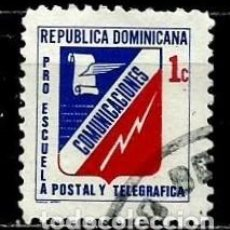 Sellos: REP. DOMINICANA SCOTT: RA49B-(1971) (IMPUESTO POSTAL) (ESCUELA POSTAL Y TELEGRÁFICA) USADO. Lote 191931998