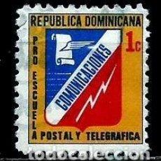 Sellos: REP. DOMINICANA SCOTT: RA69-(1974) (IMPUESTO POSTAL) (ESCUELA POSTAL Y TELEGRÁFICA) USADO. Lote 191932288