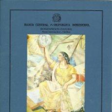Sellos: DOCUMENTO PARA CONMEMORAR EL 150 ANIVERSARIO DEL PAPEL MONEDA, REP.DOMINICANA. Lote 193242358