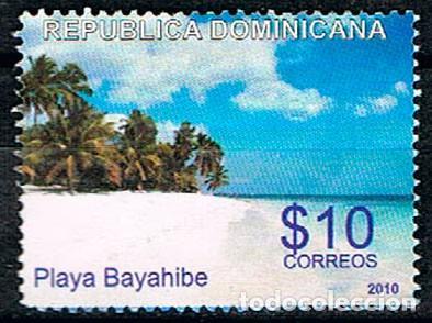 REPÚBLICA DOMINICANA Nº 2224, PLAYA BAYAHIBE, USADO (Sellos - Extranjero - América - República Dominicana)