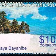 Sellos: REPÚBLICA DOMINICANA Nº 2224, PLAYA BAYAHIBE, USADO. Lote 198313623