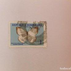Sellos: REPÚBLICA DOMINICANA SELLO USADO. Lote 199003497