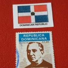 Sellos: REP. DOMINICANA (C) - 1 SELLO CIRCULADO. Lote 201596607