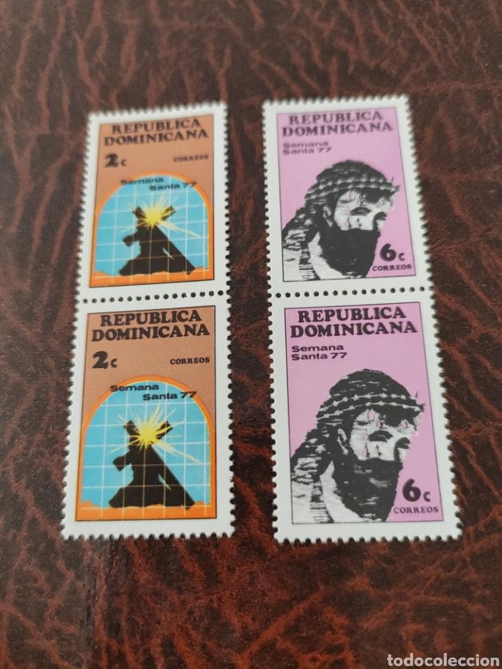 SELLOS REPÚBLICA DOMINICANA SEMANA SANTA (Sellos - Extranjero - América - República Dominicana)