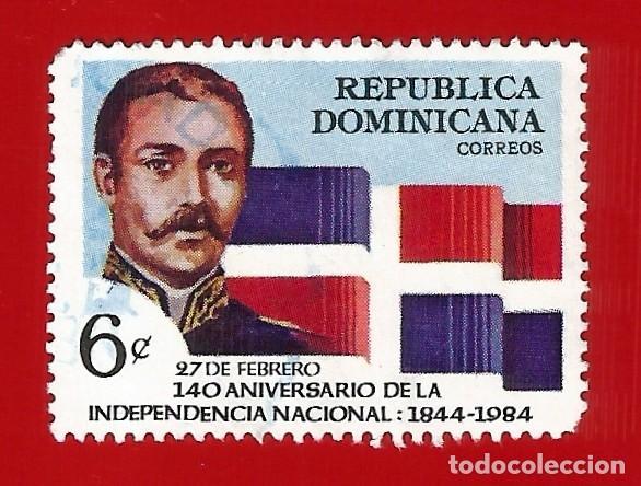 REPUBLICA DOMINICANA. 1984. 140 ANIVERSARIO DE LA INDEPENDENCIA (Sellos - Extranjero - América - República Dominicana)