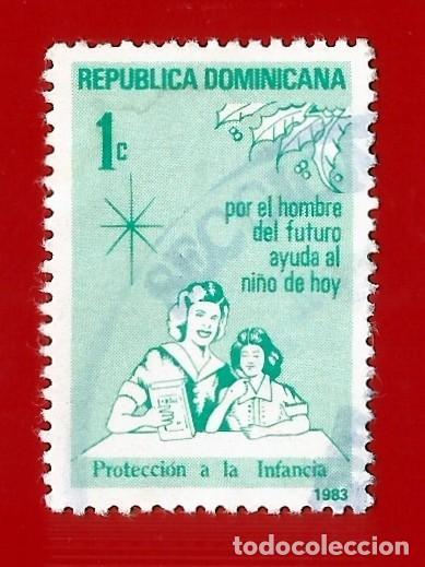 REPUBLICA DOMINICANA. 1983. PROTECCION A LA INFANCIA (Sellos - Extranjero - América - República Dominicana)