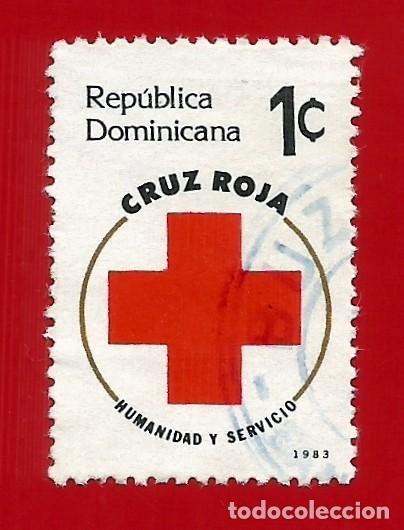 REPUBLICA DOMINICANA. 1983. CRUZ ROJA (Sellos - Extranjero - América - República Dominicana)