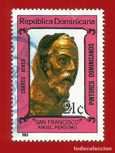 REPUBLICA DOMINICANA. 1983. PINTORES DOMINICANOS. SAN FRANCISCO (Sellos - Extranjero - América - República Dominicana)