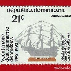Sellos: REPUBLICA DOMINICANA. 1983. V CENTENARIO DESCUBRIMIENTO AMERICA. Lote 211504622