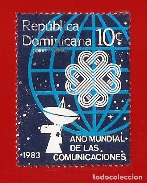 REPUBLICA DOMINICANA. 1983. AÑO MUNDIAL TELECOMUNICACIONES (Sellos - Extranjero - América - República Dominicana)
