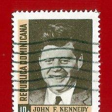 Sellos: REPUBLICA DOMINICANA. 1964. JOHN F. KENNEDY. Lote 211506367