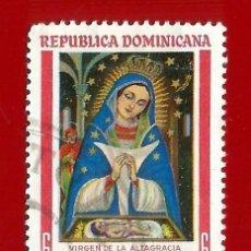 Sellos: REPUBLICA DOMINICANA. 1965. VIRGEN DE ALTAGRACIA. Lote 211506881