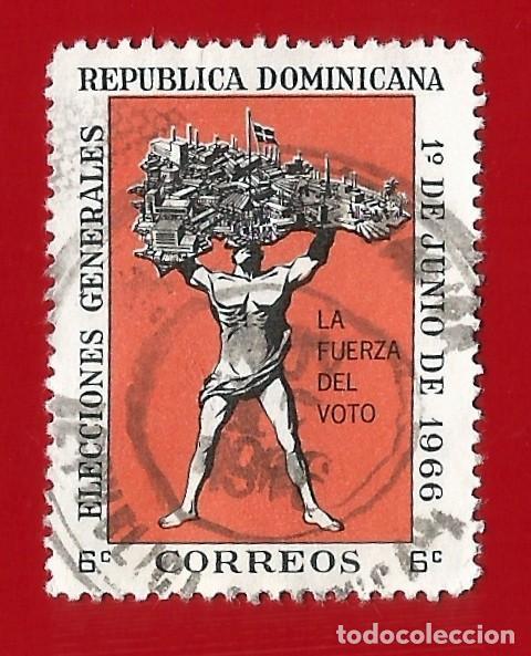 REPUBLICA DOMINICANA. 1966. ELECCIONES GENERALES (Sellos - Extranjero - América - República Dominicana)