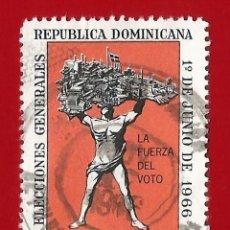 Sellos: REPUBLICA DOMINICANA. 1966. ELECCIONES GENERALES. Lote 211507630