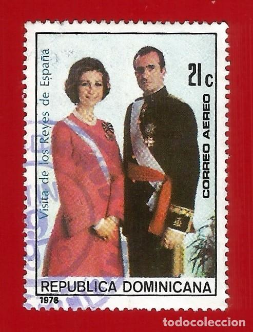 REPUBLICA DOMINICANA. 1976. VISITA DE LOS REYES DE ESPAÑA (Sellos - Extranjero - América - República Dominicana)