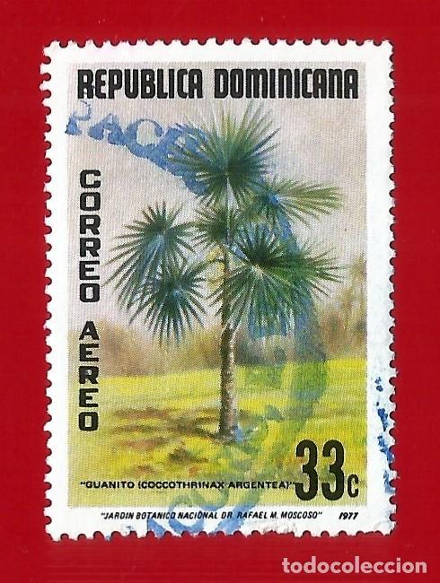 REPUBLICA DOMINICANA. 1977. PLANTA. GUANITO. PALMA DOMINICANA (Sellos - Extranjero - América - República Dominicana)