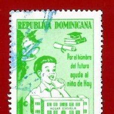 Sellos: REPUBLICA DOMINICANA. 1977. PROTECCION DE LA INFANCIA. Lote 212853857