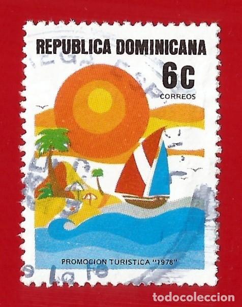 REPUBLICA DOMINICANA. 1978. PROMOCION TURISTICA. SOL Y PLAYA (Sellos - Extranjero - América - República Dominicana)