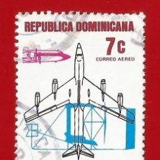 Sellos: REPUBLICA DOMINICANA. 1978. VUELO HERMANOS WRIGHT. Lote 212856488