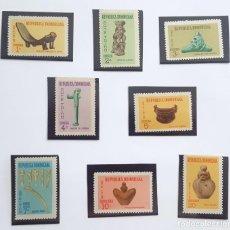 Sellos: SELLOS REPÙBLICA DOMINICANA 1969. NUEVOS. ARTE TAINO.. Lote 214034267