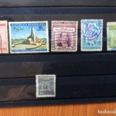 Sellos: 6 SELLOS REPUBLICA DOMINICANA. Lote 214148457