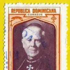Sellos: REPUBLICA DOMINICANA. 1962. MONSEÑOR ADOLFO ALEJANDRO NOUEL. Lote 220174471