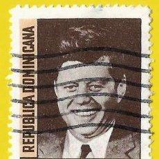 Sellos: REPUBLICA DOMINICANA. 1964. JOHN F. KENNEDY. Lote 220189191